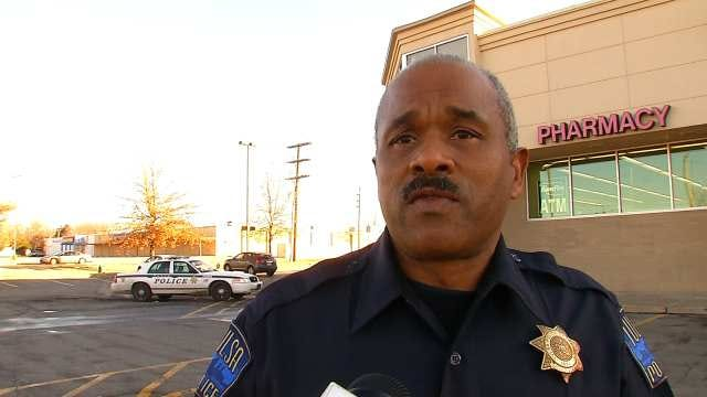 WEB EXTRA: Tulsa Police Officer Rufus Newsome Talks About The Carjacking