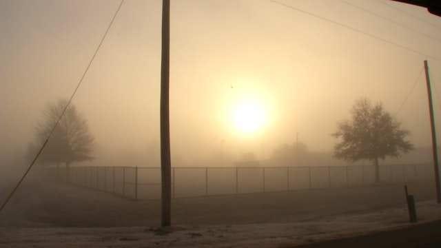 The Day After Christmas Morning Fog Across Tulsa