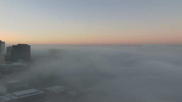 WEB EXTRA: Video From Osage SkyCam Network Of Downtown Tulsa Fog