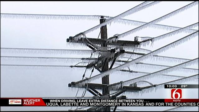 Power Crews Brace For Green Country Ice Storm