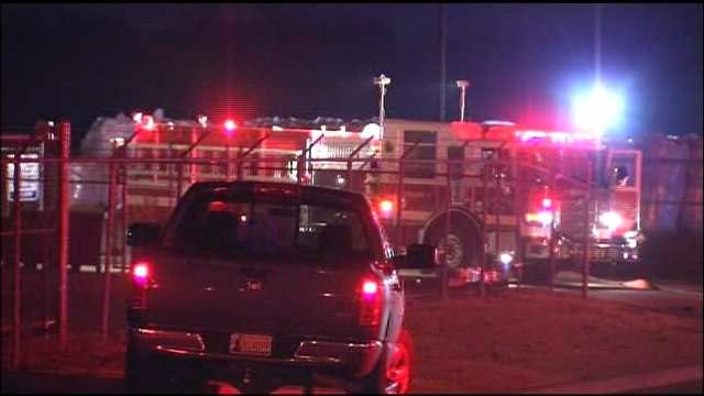 WEB EXTRA: Video From Scene Of Sapulpa Chemical Fire