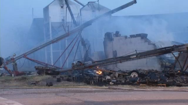 WEB EXTRA: Video From Scene Of Downtown Nowata Fire