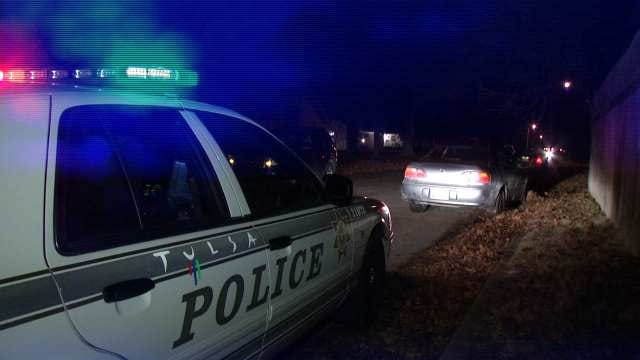 WEB EXTRA: Video From Scene Of Traffic Stop at 60th Place And South Utica