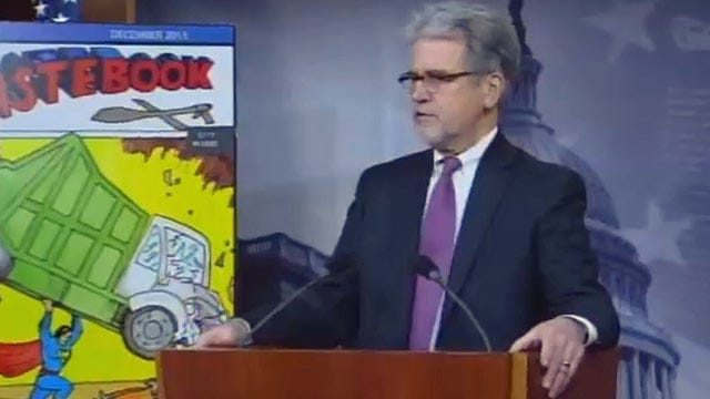 WEB EXTRA: Senator Tom Coburn's News Conference On Wastebook