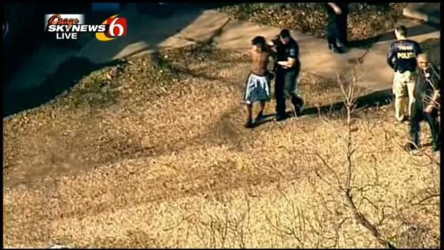 Osage SkyNews 6 Flies Over Arrest Scene