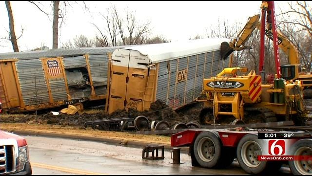 BNSF Offers $100K Reward In Tulsa Train Derailment