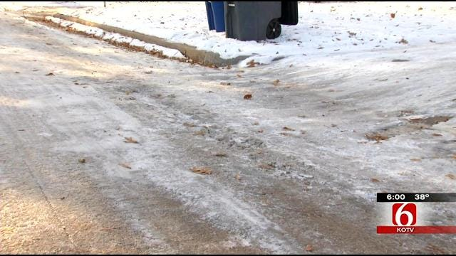 Tulsa City Councilor Calls For City To Treat Neighborhood Streets In Winter