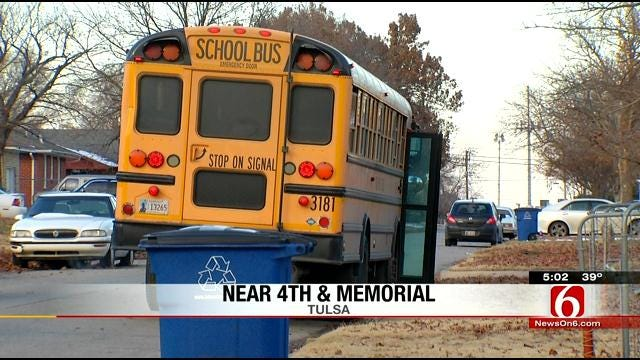 Tulsa 4-Year-Old Hit By Car After Getting Off School Bus