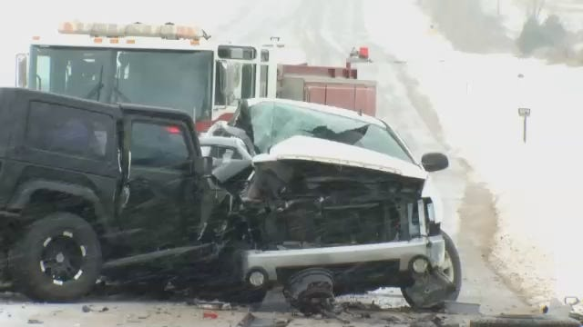 WEB EXTRA: Scenes From Highway 33 Fatality Wreck