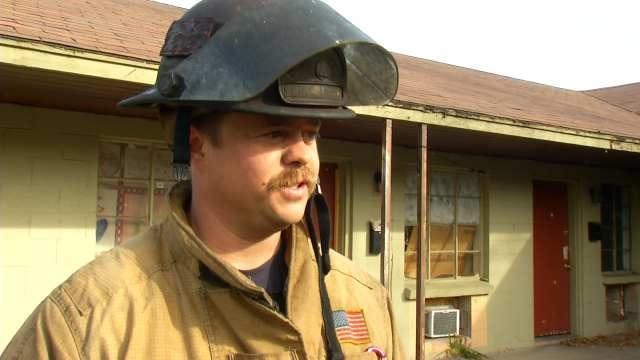 WEB EXTRA: Tulsa Fire Department Captain Robert Scott Talks About Fire