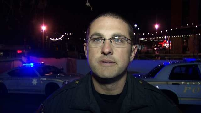WEB EXTRA: Tulsa Police Cpl. Jerrod Hart Talks About Fight And Shots Fired