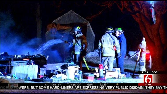 Osage County Fire Kills 2 On Thanksgiving Day