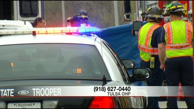Child Pedestrian Killed In Hit-And-Run On Interstate 44 In West Tulsa