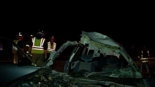 WEB EXTRA: Scenes From Wreck That Injured Inola Women