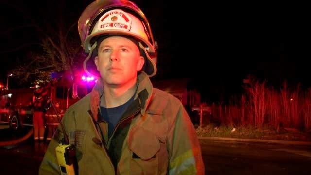 WEB EXTRA: Tulsa District Chief On House Fire
