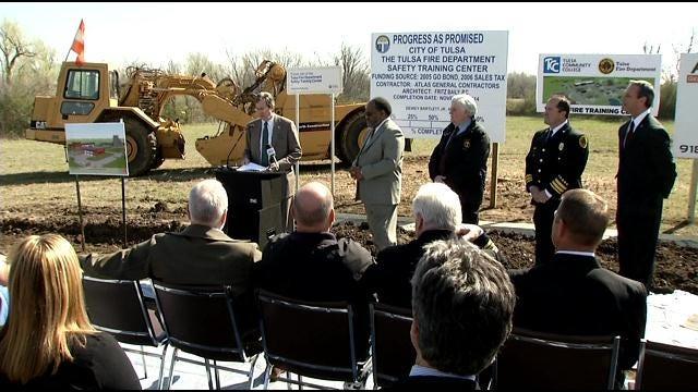 Tulsa Fire Begins Construction On New Training Academy