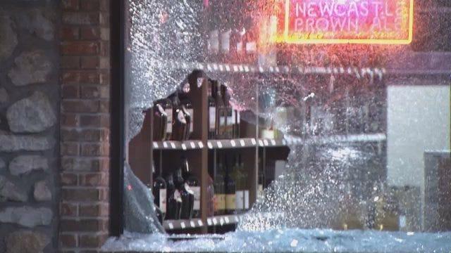 WEB EXTRA: Video From Scene Of Tulsa Business Burglary