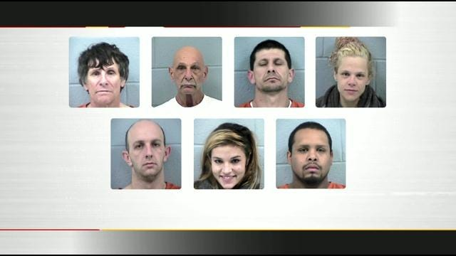 Meth Bust At Tulsa Hard Rock Hotel Leads To 9 Arrests, 2 Indictments