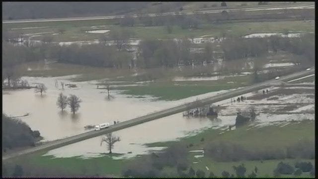 WEB EXTRA: Video Of Rural Pittsburg County Flooding From SkyNews6