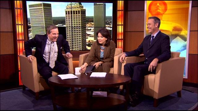 Leaf Scares Six In The Morning Anchor Rich Lenz
