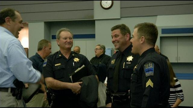 Four Tulsa Police Officers Honored With Promotions