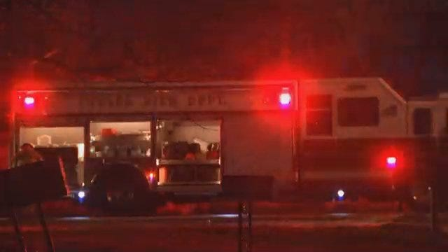 WEB EXTRA: Video From Scene Of Natural Gas Leak In West Tulsa