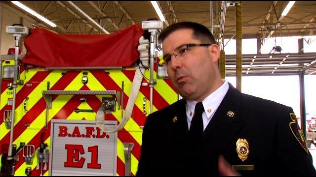 Broken Arrow Fire Department 'Rings-In' New Fire Truck