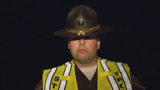 WEB EXTRA: Pedestrian Killed Crossing Interstate 44 Near Sapulpa