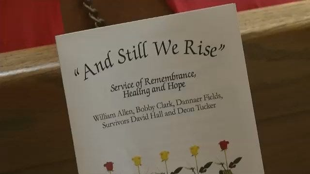 Remembrance Service Marks 1 Year Since Tulsa Good Friday Shootings
