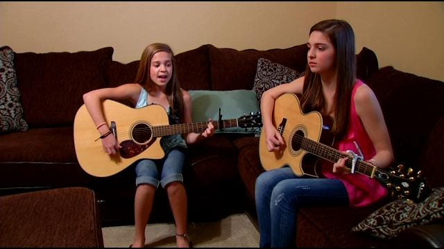 Singing Sisters From Tulsa On Their Way To Music Stardom