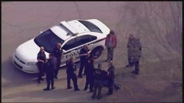 WEB EXTRA: SkyNews6 Was Overhead When Tulsa Police Arrested Man Involved In Chase