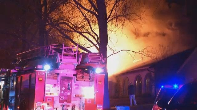 WEB EXTRA: Video From Scene Of House, SUV Fire At 78th And College