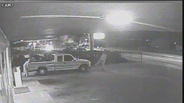 WEB EXTRA: Full Surveillance Video Of Tire Mart Theft