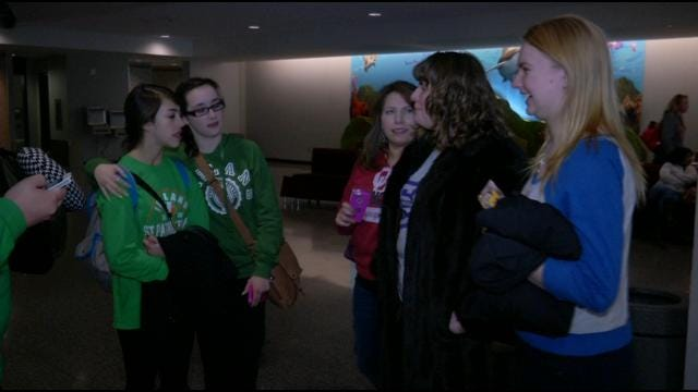 Bartlesville High School Students Return After Extended Stay In Ireland