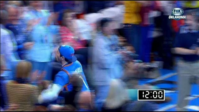 OKC Thunder Fan From Missouri Talks Winning Half-Court Shot