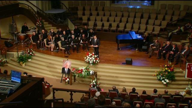 Funerals Held For Plane Crash Victims Steve Davis, Wesley Caves