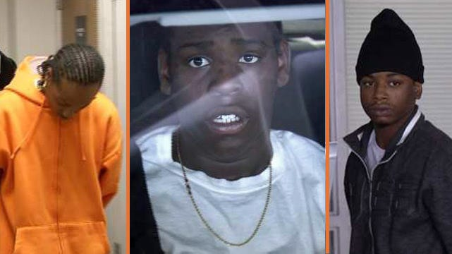 WEB EXTRA: Video Of Three Tulsa Teens Following Their Arrest On First Degree Murder Complaints