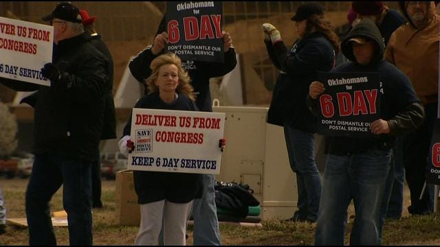 Oklahoma Letter Carriers Fight For Saturday USPS Delivery