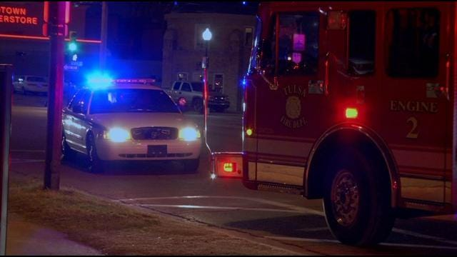 Tulsa Police: Assault, Theft Victim Injured By Hit-And-Run Driver