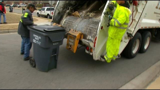 New Trash System Simplifies Recycling For Jenks Residents