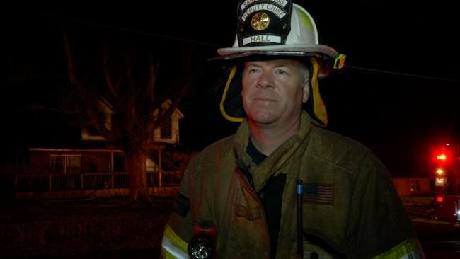 WEB EXTRA: Sand Springs Deputy Chief Describes House Fire