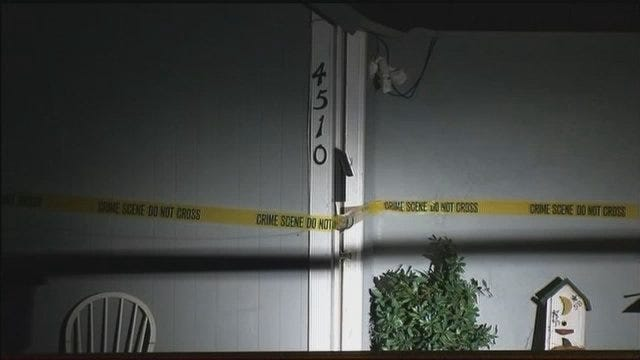 WEB EXTRA: Video From Scene Of Tulsa's 17th Homicide Of 2013