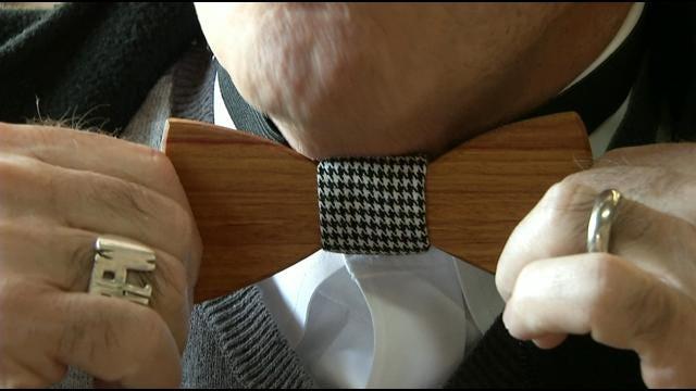 Two Tulsa Guys Make Wooden Bow Ties