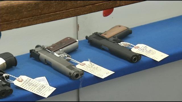Opponents Of Gun Control Speak In Oklahoma As National Debate Continues