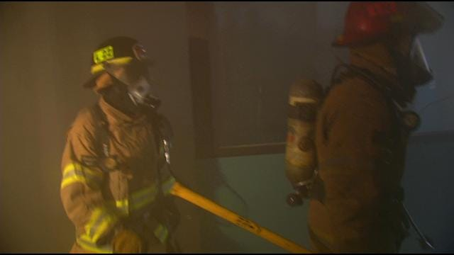 Tulsa Firefighters Train For Life-Threatening Situations