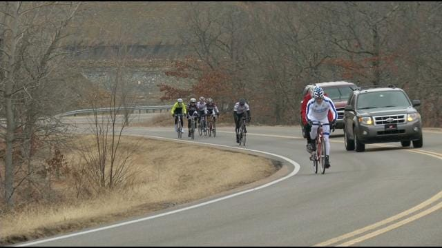 Blind Cyclist Races In Skiatook March Of Dimes Fundraiser