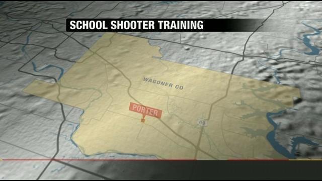 Oklahoma Law Enforcement Trains For School Shooting Scenarios