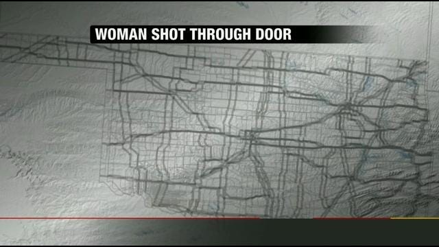 Muskogee Woman Shot While Answering Knock At The Door