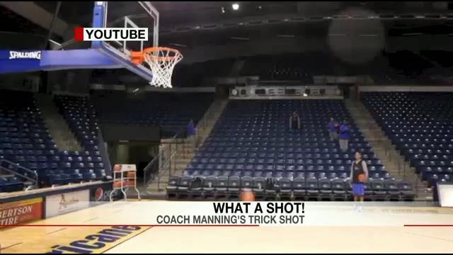 TU Coach Danny Manning's Tricky Shot