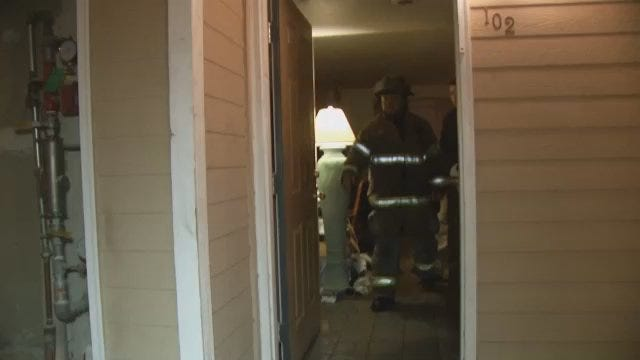 WEB EXTRA: Video From Scene Of Stonegate Village Apartments Fire